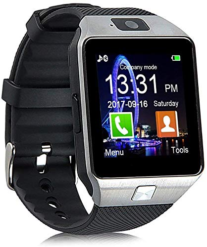 Faawn Smart Watch Bluetooth Phone Call smartwatches with Sim and Bluetooth Call Fitness Tracker Smart Watches for Men, Women, Boys and Girls ( smartwatch ) - Silver