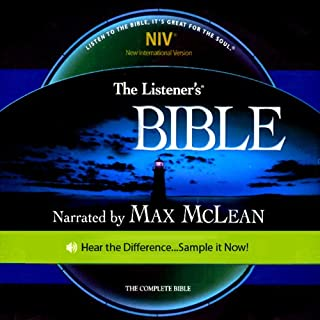 The Listener's Bible NIV audiobook cover art