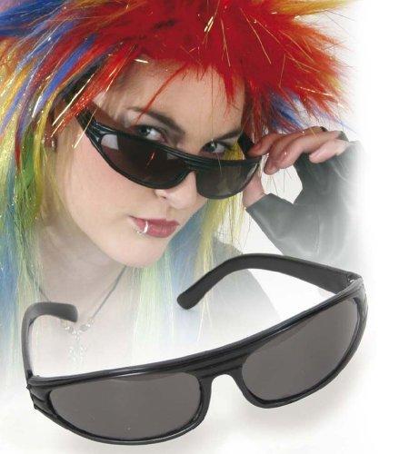 Punker Brille Punkerbrille schwarz