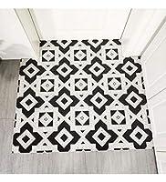 MDCG ヨーロピアンスタイルのカーペット洗える幾何学パターンカーペット家庭用はカーペットフットパッドノンスリップドアマットを切り抜くことができます (Color : B, Size : 120x120cm)