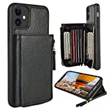 iPhone 11 Wallet Case, ZVE iPhone 11 Case with Credit Card ID Card Holder Slot...