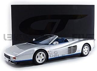 GT-SPIRIT 1/12 FERRARI TESTAROSSA SPIDER 1998 SILVER GT334