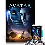 Puzzle para Adultos 1000 Piezas Avatar Movie Poster Action Sci-Fi Adventure Movie Paper Jigsaw Puzzle 26x38cm Free Time Games Relieve Stress