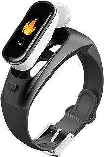 Skyeagle Relojes Deportivos Pulsera Inteligente Bluetooth Auriculares Monitores de Actividad Podómetros Pulsómetros Blood Pressure Calorías Dormir Monitores Llamada Entrante SMS Recordatorio