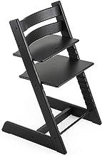 Stokke Beech Wood Ergonomic 2019 Tripp Trapp Chair, Oak Black