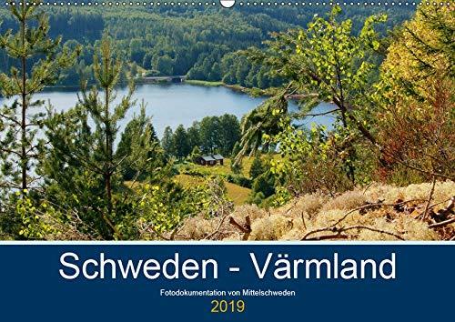 Schweden - Värmland (Wandkalender 2019 DIN A2 quer): Fotodokumentation von der typisch schwedischen Natur in Värmland. (Monatskalender, 14 Seiten ) (CALVENDO Natur)