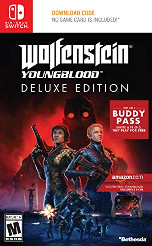 Wolfenstein: Youngblood - Nintendo Switch Deluxe Edition [Amazon Exclusive Bonus]