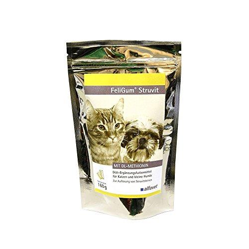 FeliGum®Struvit-Einheit: 160 gramm-Diät-Ergänzungsfuttermittel für Katzen und kleine Hunde Zur Auflösung von Struvitsteinen