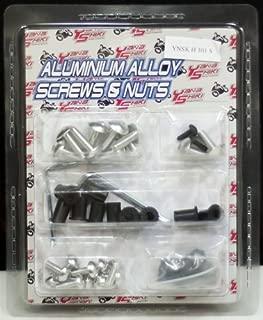 Yana Shiki YNSK-H101S Silver Fairing Bolt Kit for Honda CBR 1000RR