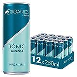 Organics by Red Bull Tonic Water Dosen Bio, 12er Palette, EINWEG, 12er Pack (12 x 250 ml)