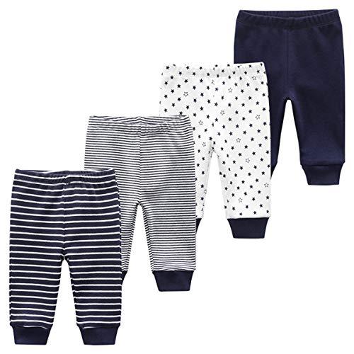 MAMIMAKA Baby Body Pantaloni Pantaloni Bambino Vestiti Del Bambino Manica Corta Body Onesies per Neonati e Ragazze Pantaloni-2 9-12 Mesi