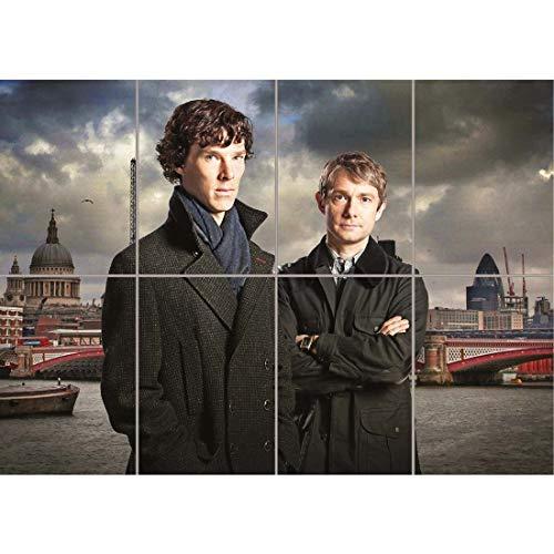Young Sherlock Holmes Dr Watson New Giant Wall Art Print
