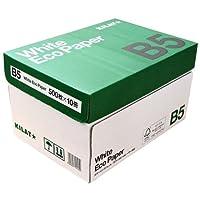キラット ホワイトエコペーパー B5サイズ 1箱 5000枚(500枚×10冊)