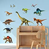 DECOWALL DWL-2012 Dinosaurio Vinilo Pegatinas Decorativas Adhesiva Pared Dormitorio Saln Guardera Habitaci Infantiles Nios Bebs
