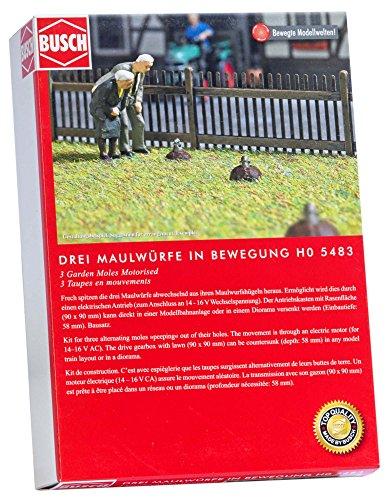 Busch 5483 Trois Peeping Taupes Paysage de Ho Echelle Modèle