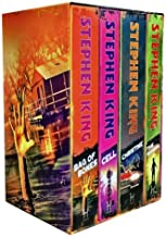 Stephen King Classic Collection 4 Books Box Set (The Shining, Bag of Bones, Christine, Cell)