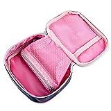 LoKauf 13 * 10 * 4cm Tragbar Wasserdicht Medizintasche Sanitätstasche Reiseapotheke Tasche Erste Hilfe Set - 8
