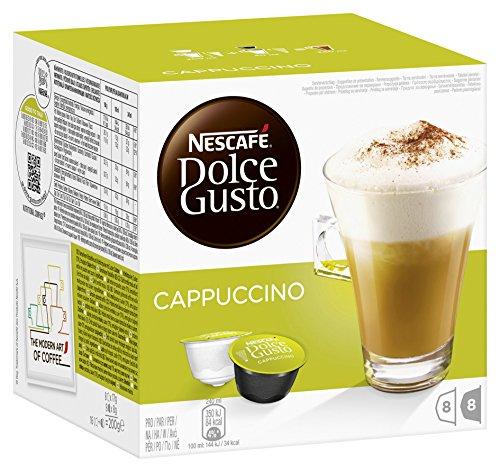 NESCAFÉ Dolce Gusto Cappuccino, 16 Kapseln für 8 Getränke, 200 g