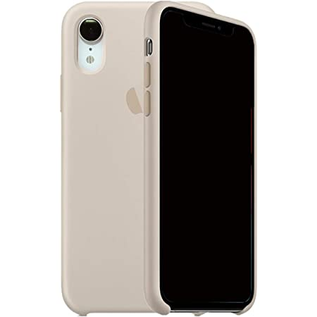 Kongwoo Silicone Case (Rubber Hard Cover) Compatible with iPhone XR (Stone)