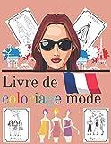 Livre De Coloriage Mode: Pour Adultes Anti Stress Illustration