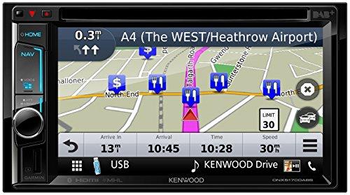 Kenwood DNX5170DABS Navigationssystem (Kontinent)
