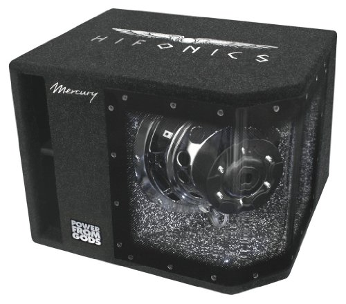 Hifonics MR10BP Mercury im Bandpassgehäuse