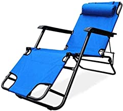 ZNBJJWCP Folding Zero Gravity Chair Recliner for Office Beach Chair with Armrest Adjustable Lounge Chair Breathable Fabric
