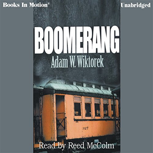 Boomerang audiobook cover art