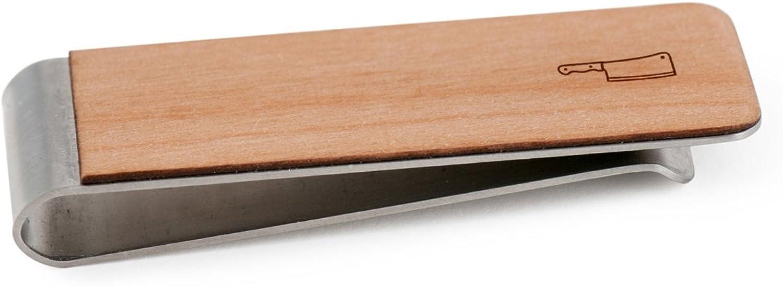 Butcher Knife Money Clip | Wood Money Clip