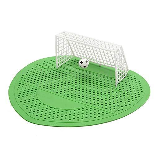 Fußball-WC-Reiniger für Männer, Fußball-Tor, Urinalsieb, 5 Stück