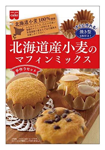 共立食品 ホームメイド 手づくりセット北海道産小麦のマフィンミックス 55g ×6個