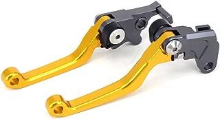 FXCNC Racing CNC Aluminum Dirt Bike Pivot Brake Clutch Lever Set for Suzuki DR250R 97-00 DRZ400S//DRZ400SM 00-17 Black