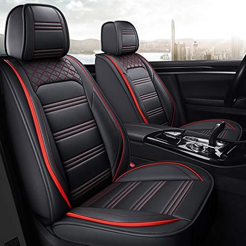 Chemu - Juego de fundas para asientos de coche (piel sintética, universales, para Seat Altea Arona