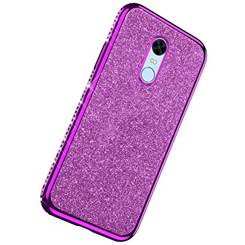 Learn More About Herbests Compatible with Xiaomi Redmi 5 Plus Case Glitter Cute Girl Women Bling Cry...