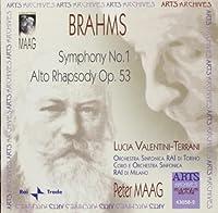 Brahms: Symphony No. 1 / Alto Rhapsody, Op. 53 by Lucia Valentine-Terrani (2005-12-27)