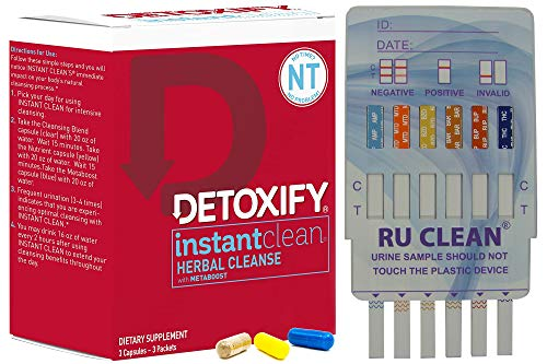 Instant Clean Cleanse & Detox Kit - 3 Pills to...