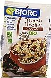 Bjorg Muesli Avoine Chocolat Bio - Riche en Céréales Complètes - 375 g