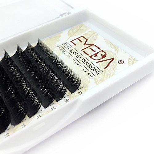 EMEDA 3D Faux Mink Extensiones pestañas B curl 8-15mm