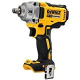 DEWALT 20V MAX XR Cordless Impact Wrench with Hog Ring Anvil, 1/2-Inch, Tool...