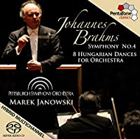 Symphony No. 4-8 Hungarian Dances for Orchestra