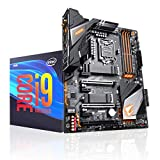 Micro Center Intel Core i9-9900K Desktop Processor 8 Cores up to 5.0 GHz Turbo Unlocked LGA1151 CPU Combo Bundle with GIGABYTE Z390 Aorus Pro WiFi Motherboard ATX DDR4 M.2 Onboard AC Wi-Fi RGB Fusion