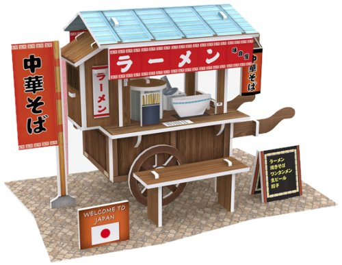 3D three-dimensional puzzle 3D World Style Series ramen stand W3103h (japan import)