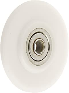 Prime-Line Products P 7991 Rolling Tool Wheel with White Concave Nylon and Ball Bearing, 2