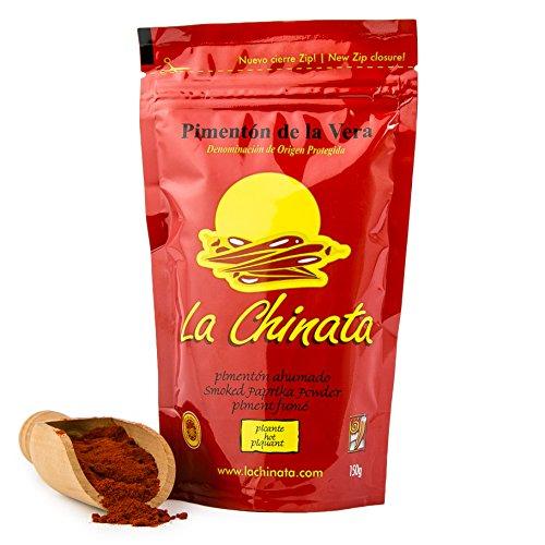 Paprika Affumicata Piccante - LA CHINATA - DOP La Vera - Sacchetto da 150 g - Senza Glutine