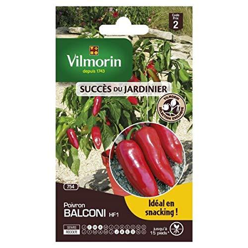 Vilmorin - Sachets graines Poivron Balconi Vilmorin