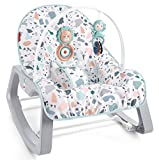 Fisher-Price Infant-to-Toddler Rocker - Pacific Pebble, Portable...