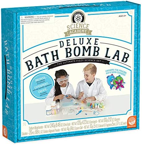 Science Academy Deluxe Bath Bomb Making Lab Kit Kids Teens Create 8 Bath Bombs with Our 34pc product image