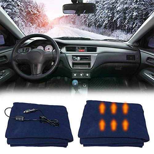 Dedeka Manta eléctrica de 12V para automóvil,Manta eléctrica de Viaje calefactada, Material de...