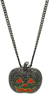 UBBC Hiphop Iced Out Full Rhinestone Gold Plated Big Middle Finger Pendants Necklaces with 6mm Stainless Steel Rope Chain Chain Jewelry