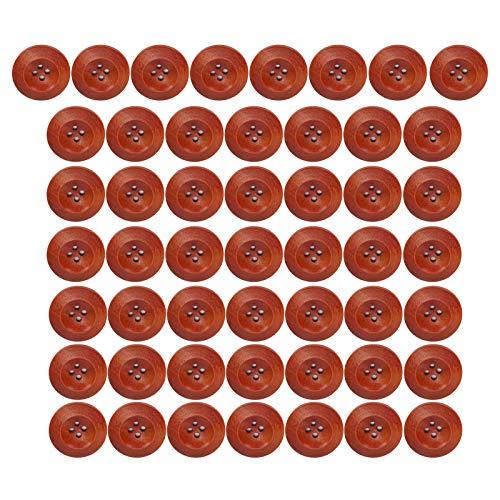 Botão de costura, botões naturais faça você mesmo, acessórios de costura para sacola de artesanato